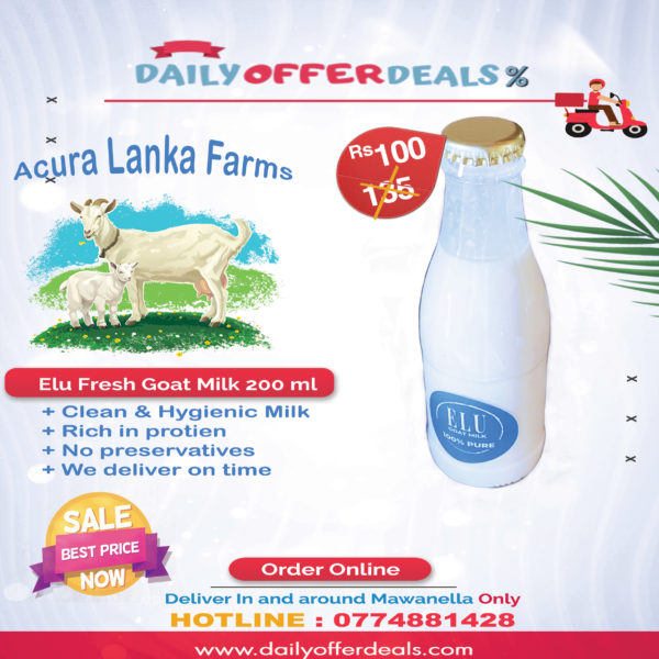 goat milk daily offer deal mawanella sri lanka